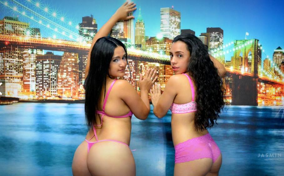Lesbianas con webcam